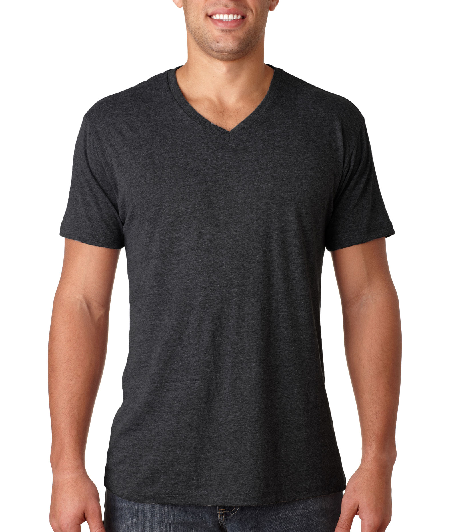Next Level Mens Tri-Blend V-Neck Tee