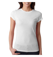 Custom Next Level Ladies Poly/Cotton Crew Neck Tee