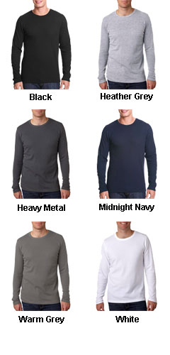 Next Level Mens Long Sleeve Thermal Tee - All Colors