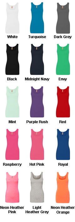 Custom Next Level Ladies Tri-Blend Jersey Tank Top - All Colors