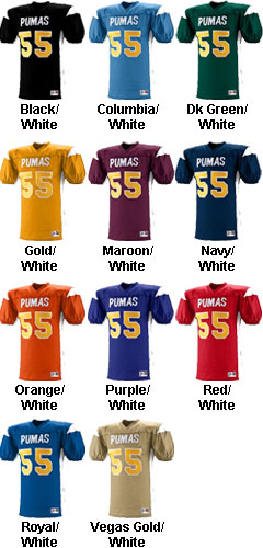 Youth Dominator Football Jersey - All Colors