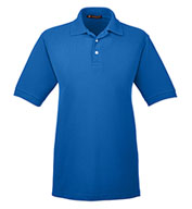 Custom Harriton Mens 5.6 oz. Easy Blend™ Polo Shirt