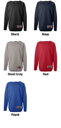 Rawlings Youth Long Sleeve Fleece Pullover - All Colors