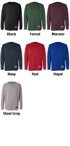 Rawlings Adult Long Sleeve Fleece Pullover - All Colors