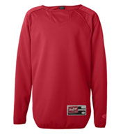 Custom Rawlings Adult Long Sleeve Fleece Pullover