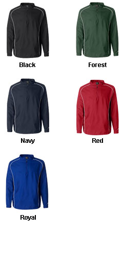 Rawlings 1/4 Zip Dobby Pullover - All Colors