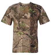 Custom Realtree Code V Camouflage Short Sleeve T-shirt by Code V