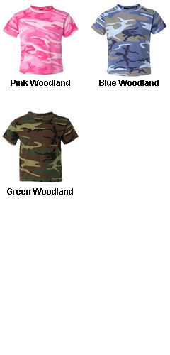 Toddler Camouflage T-shirt by Code V - All Colors