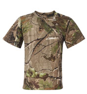 Custom Code V Youth Realtree Camo Tee