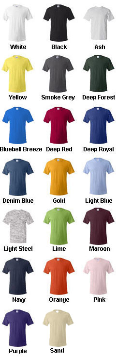 Mens Hanes ComfortSoft® Cotton T-Shirt - All Colors