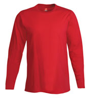 Custom Hanes Adult 4.5 oz. Ringspun Cotton Nano-T® Long-Sleeve T-Shirt