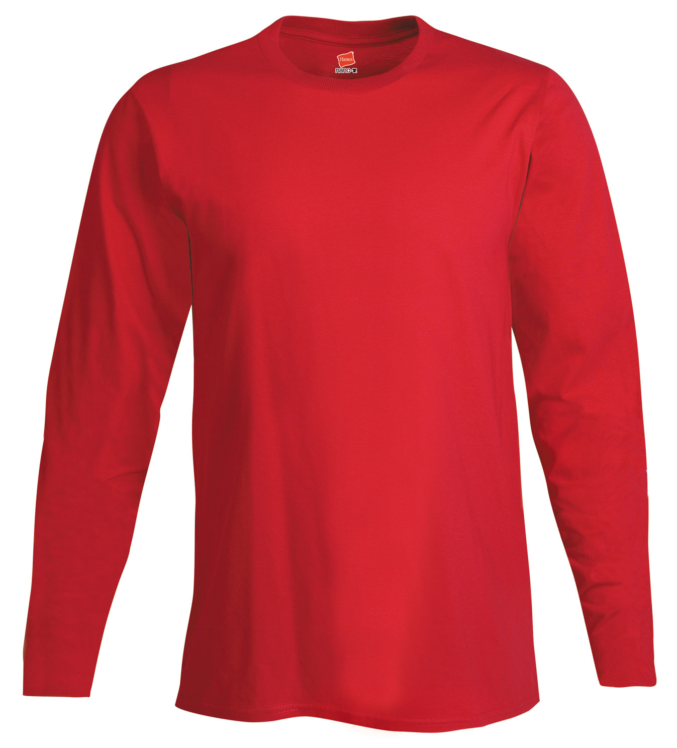 Hanes Adult 4.5 oz. Ringspun Cotton Nano-T® Long-Sleeve T-Shirt