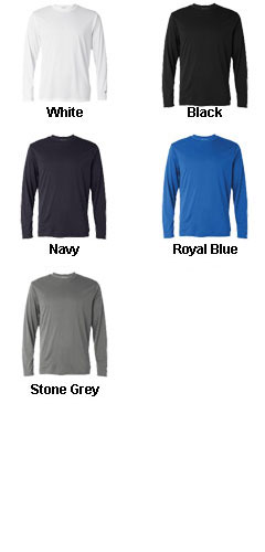 Champion Mens  Double Dry® Performance Long-Sleeve T-Shirt - All Colors