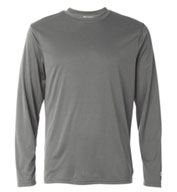 Custom Champion Mens Double Dry® Interlock Long-Sleeve T-Shirt