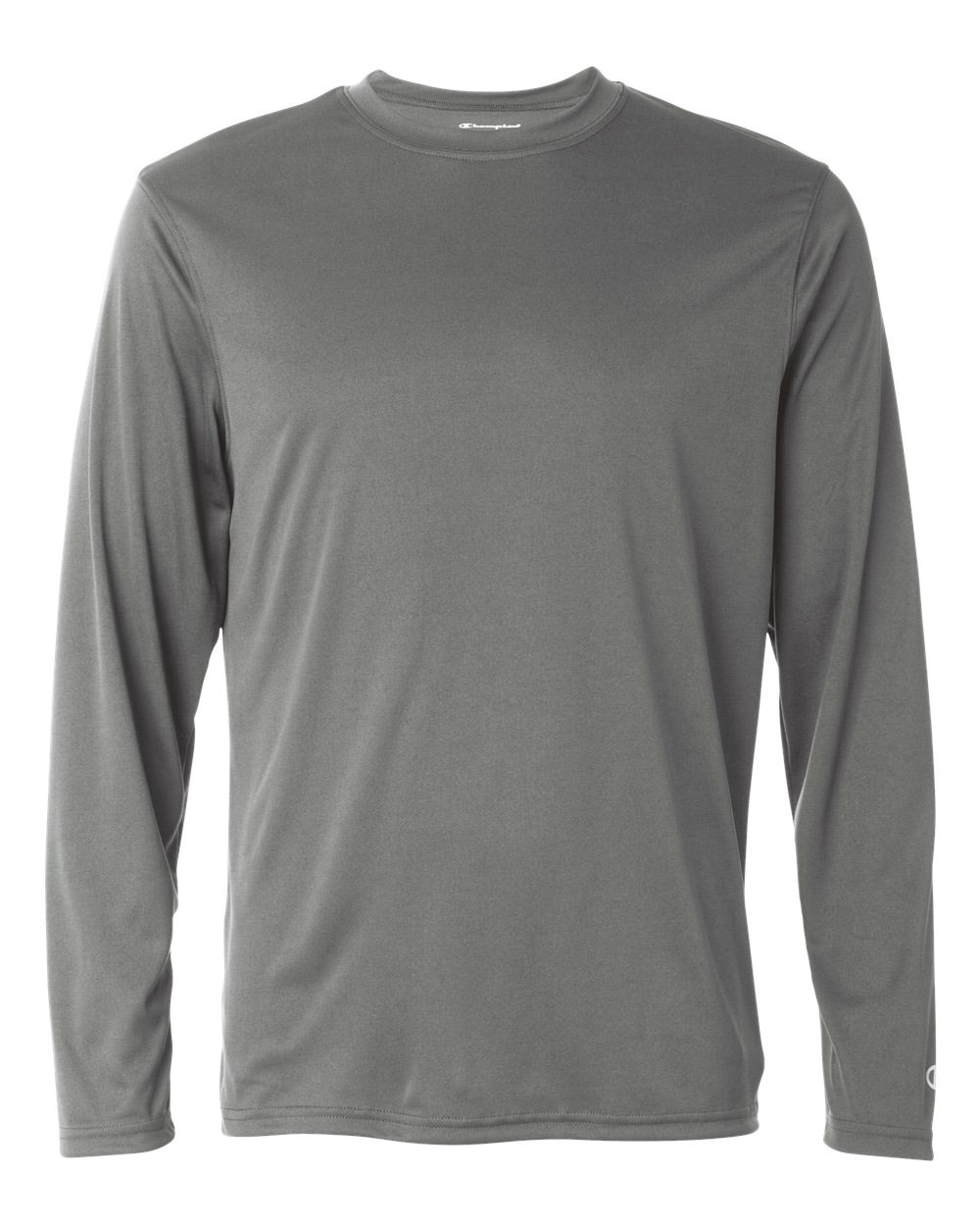 Champion Mens Double Dry® Interlock Long-Sleeve T-Shirt