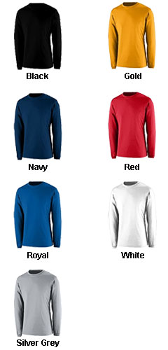 APEX Youth Long Sleeve Crew Neck T-shirt - All Colors