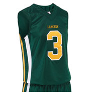 Custom Adult Mens Helix Basketball Jersey