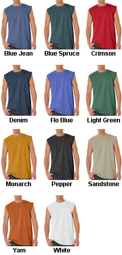 Adult Heavyweight Pigment Dyed Shooter Tee - All Colors