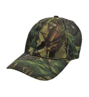 Cotton Twill Camo Cap