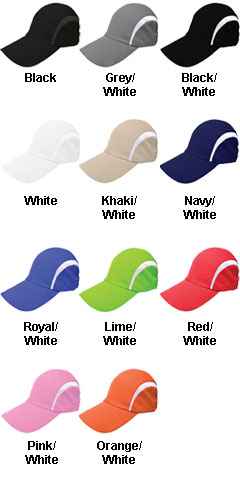 Dry Fit Moisture Wicking Mesh Cap - All Colors