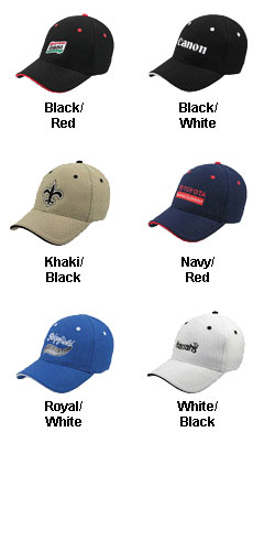 6 Panel Cool Mesh Fitted Cap - All Colors