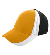 Custom Sport Flex Three-Color Athletic Mesh Cap
