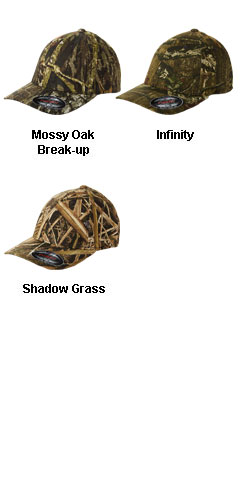 Yupoong Flexfit® Mossy Oak Camouflage Cap - All Colors