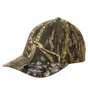 Custom Flexfit Adult Mossy Oak Camo Cap