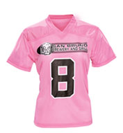 Custom Youth Girls Overtime Football Fan Jersey