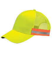Custom Adams ANSI Snap Back Trucker Reflective Cap