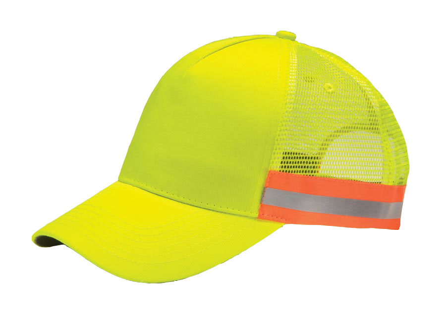 Adams ANSI Trucker Reflective Cap