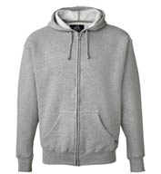 Custom J. America Adult Premium Full-Zip Fleece Hood