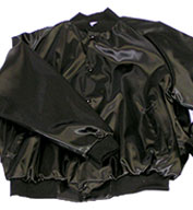 Custom ASW Adult Pro-Satin Solid Baseball Jacket with Flannel-Lining