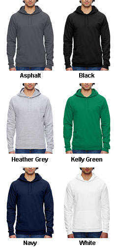 American Apparel California Fleece Pullover Hoodie - All Colors