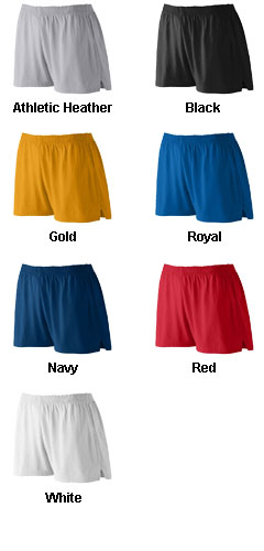 Girls Trim Fit Jersey Short - All Colors
