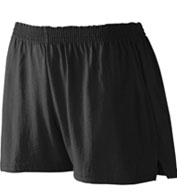 Custom Youth Girls Trim Fit Jersey Short