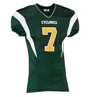 Custom Teamwork Adult Double Coverage Football Jersey Mens