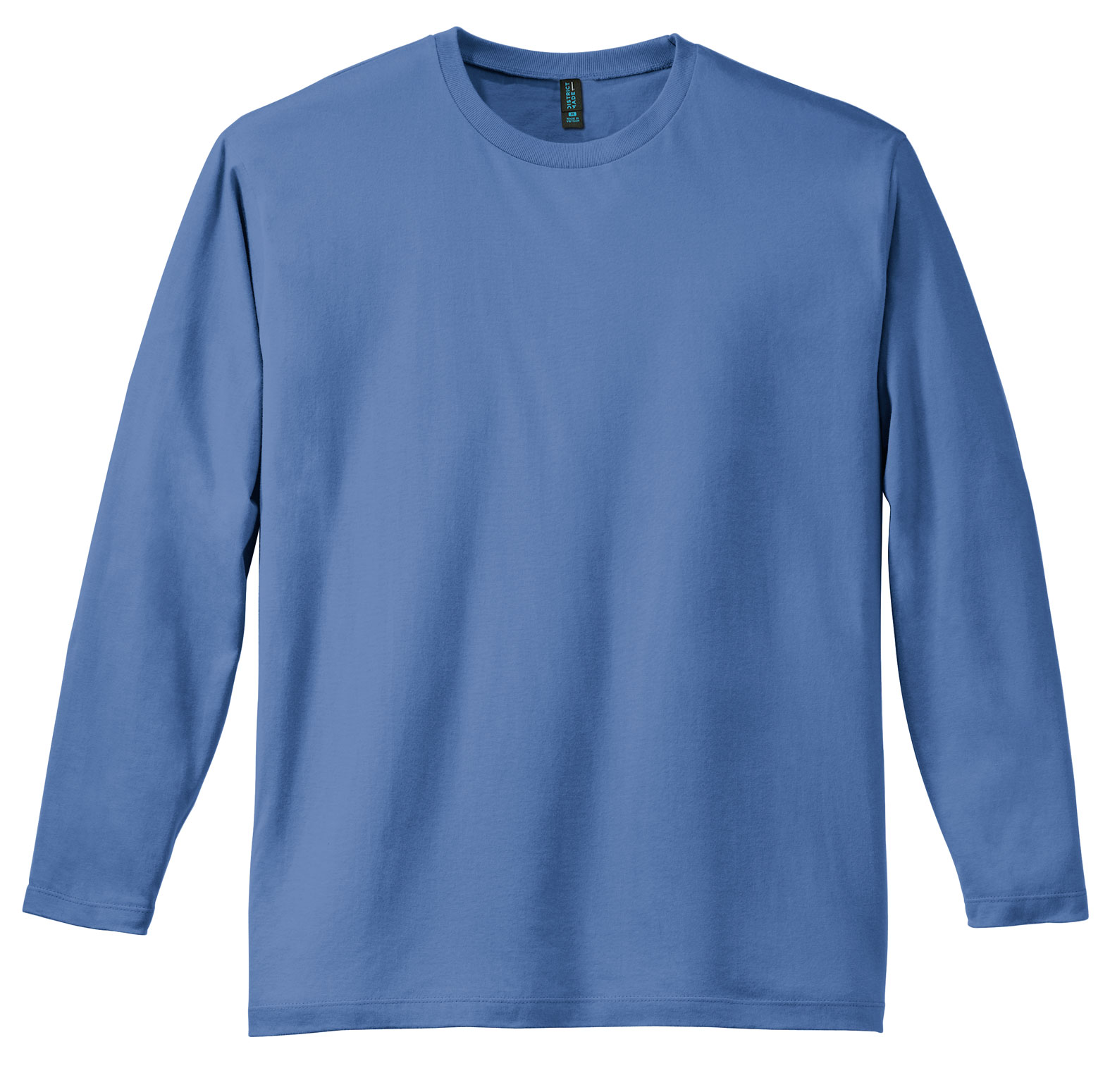 District® Mens Perfect Weight Long Sleeve Tee