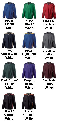 Youth Acclaim Water-Resistant Windshirt by Holloway USA - All Colors