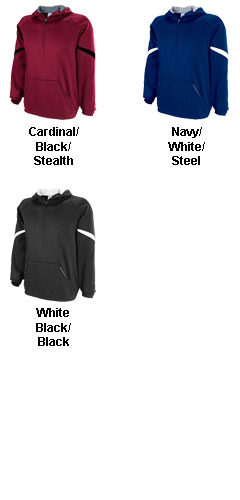 Tech Fleece 1/4 Zip Hoodie from Russell Athletic - All Colors