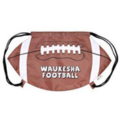 Custom Football Drawstring Backpack