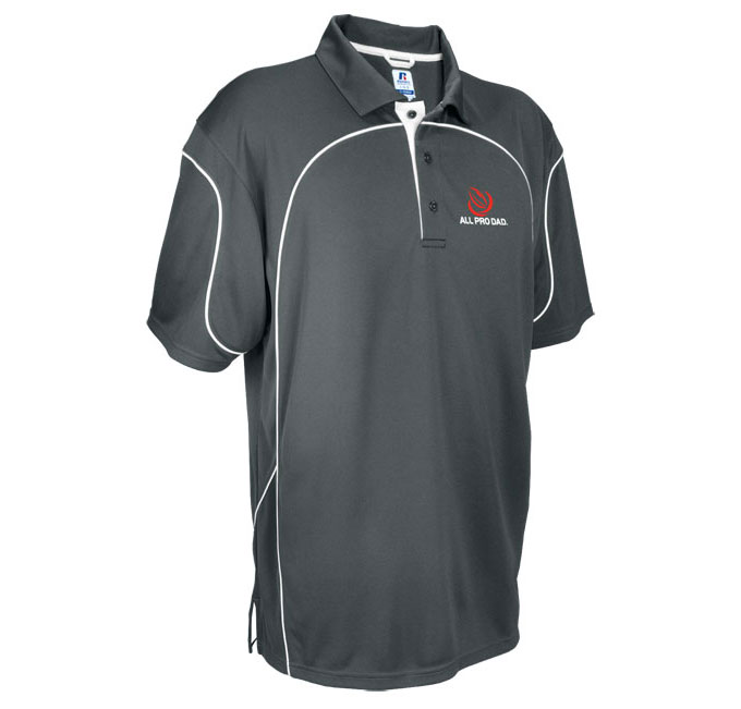 Team Prestige Mens Polo by Russell Athletic