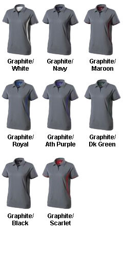 Ladies Optimal Polo by Holloway USA - All Colors