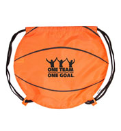 Custom Jetline Basketball Drawstring Pack
