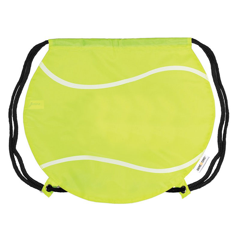 Tennis Ball Drawstring Backpack