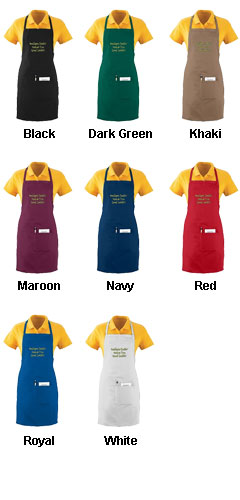 Waiter Apron With Pockets - All Colors