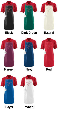 Long Apron With Pocket - All Colors