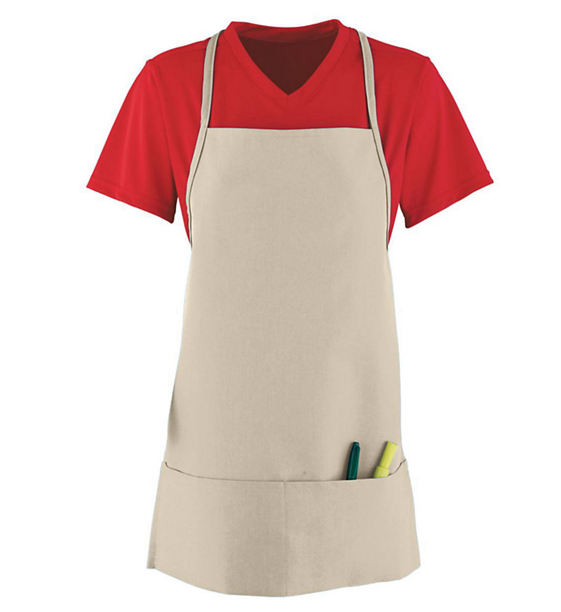 Medium Apron With Pouch