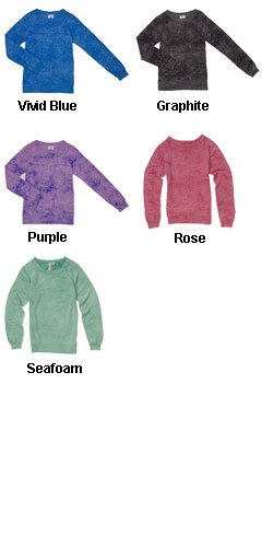 Ladies Ronnie Burn Out Crewneck - All Colors