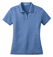 Custom Nike Ladies Dri-FIT Heather Polo